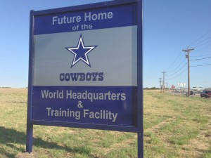 Dallas Cowboys in Frisco